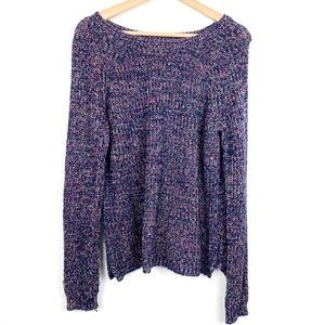 Faded Glory | Purple Round neck sweater in XL